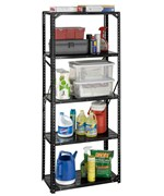 Steel Storage Rack - 30 x 72 x 15 Inches
