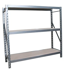 Steel Storage Rack - 72 x 77 x 24 Inches Image