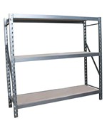 Steel Storage Rack - 72 x 77 x 24 Inches