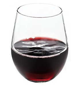 Stemless Red Wine Glasses (Set of 4) Image