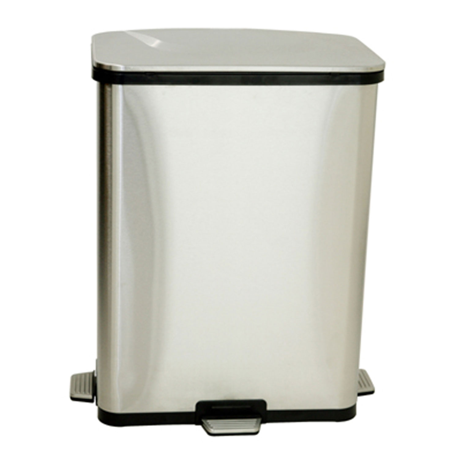 Step Sensor Trash Can By Itouchless In Kitchen Trash Cans