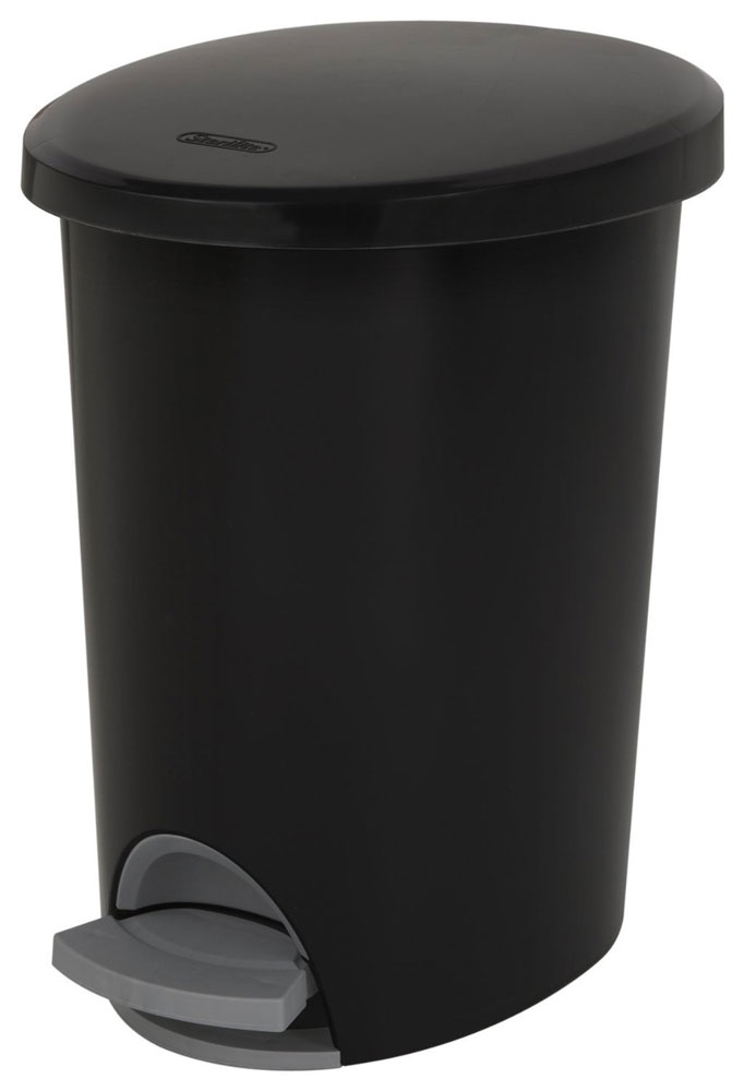 Step Trash Can 2 6 Gallon In Kitchen Trash Cans