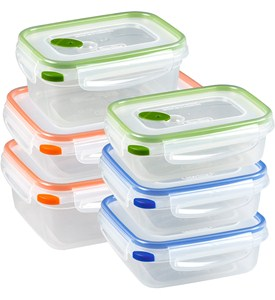 Sterilite Food Storage Containers - Ultra Seal (Set of 6) Image