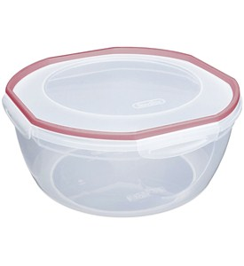 Sterilite Plastic Bowl with Lid Image