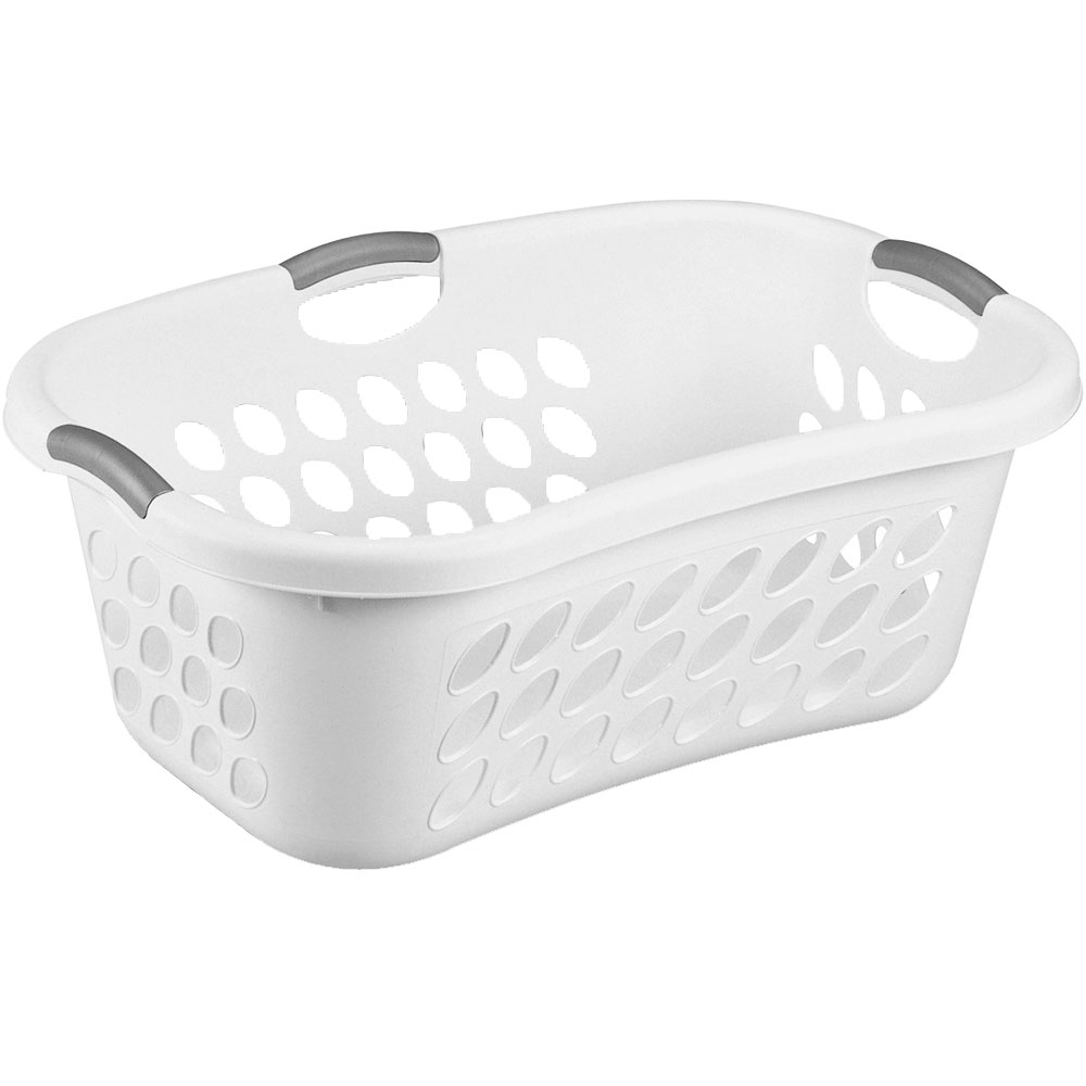 Sterilite Plastic Laundry Basket In Clothes Hampers