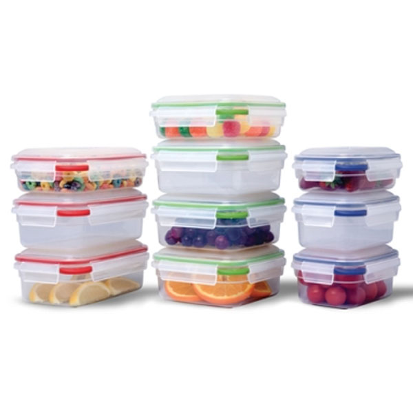 Amazing Sterilite Small Plastic Containers   Color Coded (Set Of 10) Image