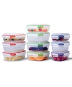 Sterilite Small Plastic Containers - Color Coded
