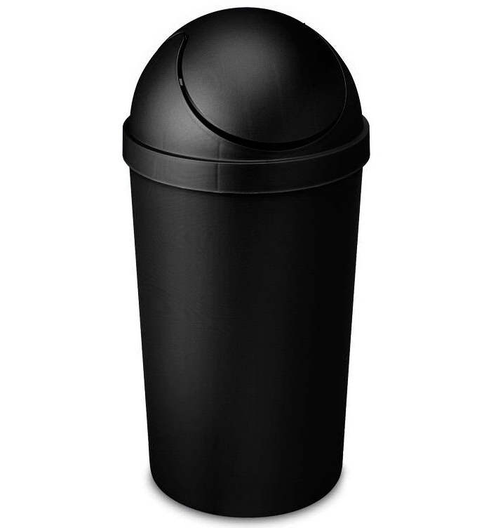 Sterilite Swing Top Trash Can 3 Gallon In Kitchen Trash Cans