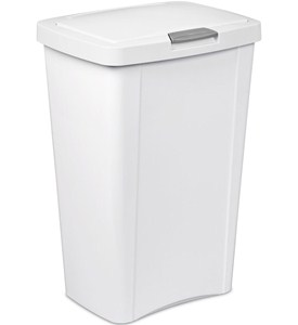 Sterilite Touch Top Trash Can Image