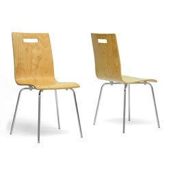 Stockholm Modern Dining Chair - Set of 2 by Wholesale Interiors Image