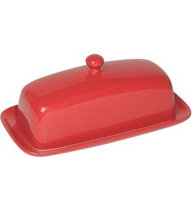 Stoneware Butter Dish Image