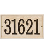 Stonework Custom Address Plaque