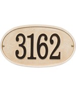 Stonework Wall Address Plaque