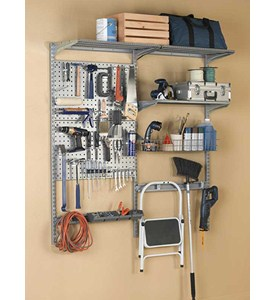Garage Wall Storage System and Tool Organizer Image