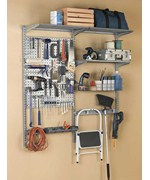 Garage Wall Storage System and Tool Organizer