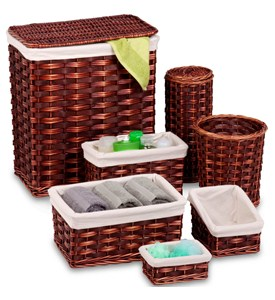 Storage Basket Set - Honey Brown Image