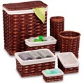 Storage Basket Set - Honey Brown