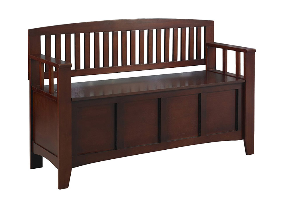 Storage Bench - Walnut Price $207.99  sc 1 st  Organize-It & Storage Benches | Entryway Bench | Bedroom Benches islam-shia.org