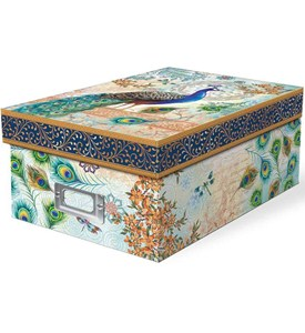 Storage Box - Peacock Image