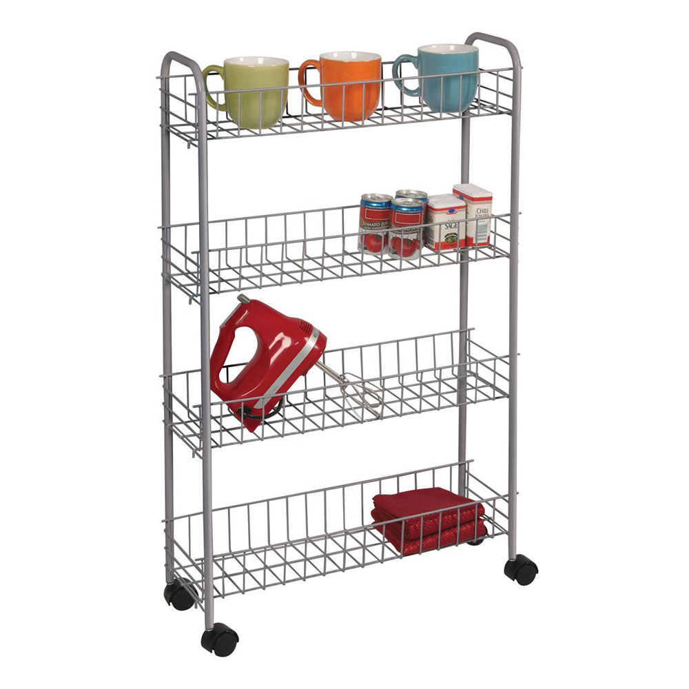 Rolling Utility Cart In Laundry Carts