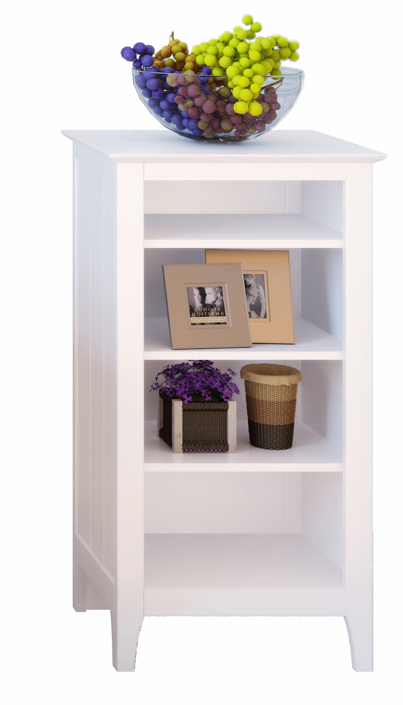 Storage Shelf By Corner In Free Standing Shelves