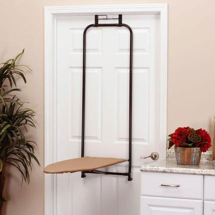 Over The Door Folding Ironing Board Image
