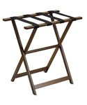 Straight Leg Luggage Rack - Wood