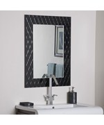 Strands Modern Bathroom Mirror by Decor Wonderland