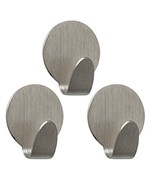 Strong Magnetic Hooks - Brushed Nickel