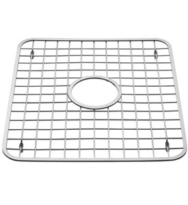 Stainless Sink Grid with Drain Hole Image