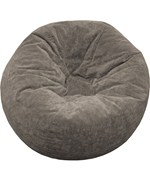 Suede Bean Bag Chair - Medium