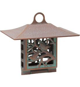 Suet Bird Feeder - Nuthatch Image
