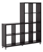 Sunna Cube Shelving Unit - Dark Brown