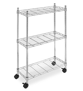 Supreme Chrome Laundry Cart Image
