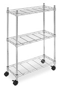 Supreme Chrome Laundry Cart