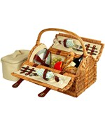 Sussex Picnic Basket - Service for Two
