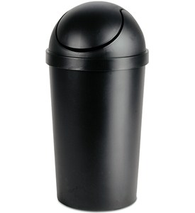 Swing Top Trash Can Image