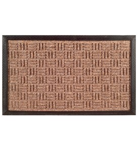 Synthetic Weave Rubber Door Mat by Imports Decor Image
