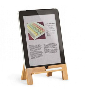 Tablet Stand - Wood by Umbra Image