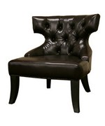 Taft Leather Club Chairs by Wholesale Interiors, Inc.