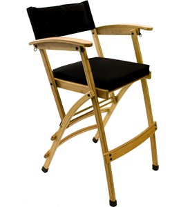 Tall Bamboo Directors Chair Image
