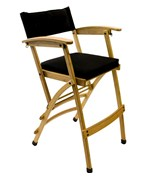 Tall Bamboo Directors Chair