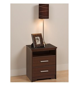 Two Drawer Night Stand - Coal Harbor Image