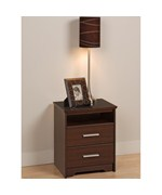 Two Drawer Night Stand - Coal Harbor