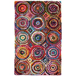 Recycled Cotton Multi-Colored Tangier Rug Image