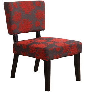 Taylor Accent Chair - Flower Image