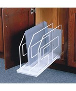 Roll-Out Tray Divider and Storage Rack - 6 Inch