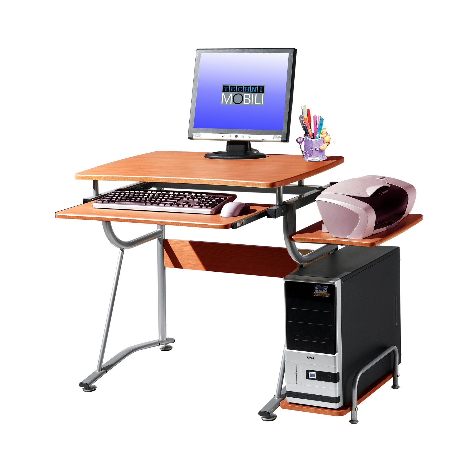 Techni Mobili Cherry Student Desk By Rta Products In Desks