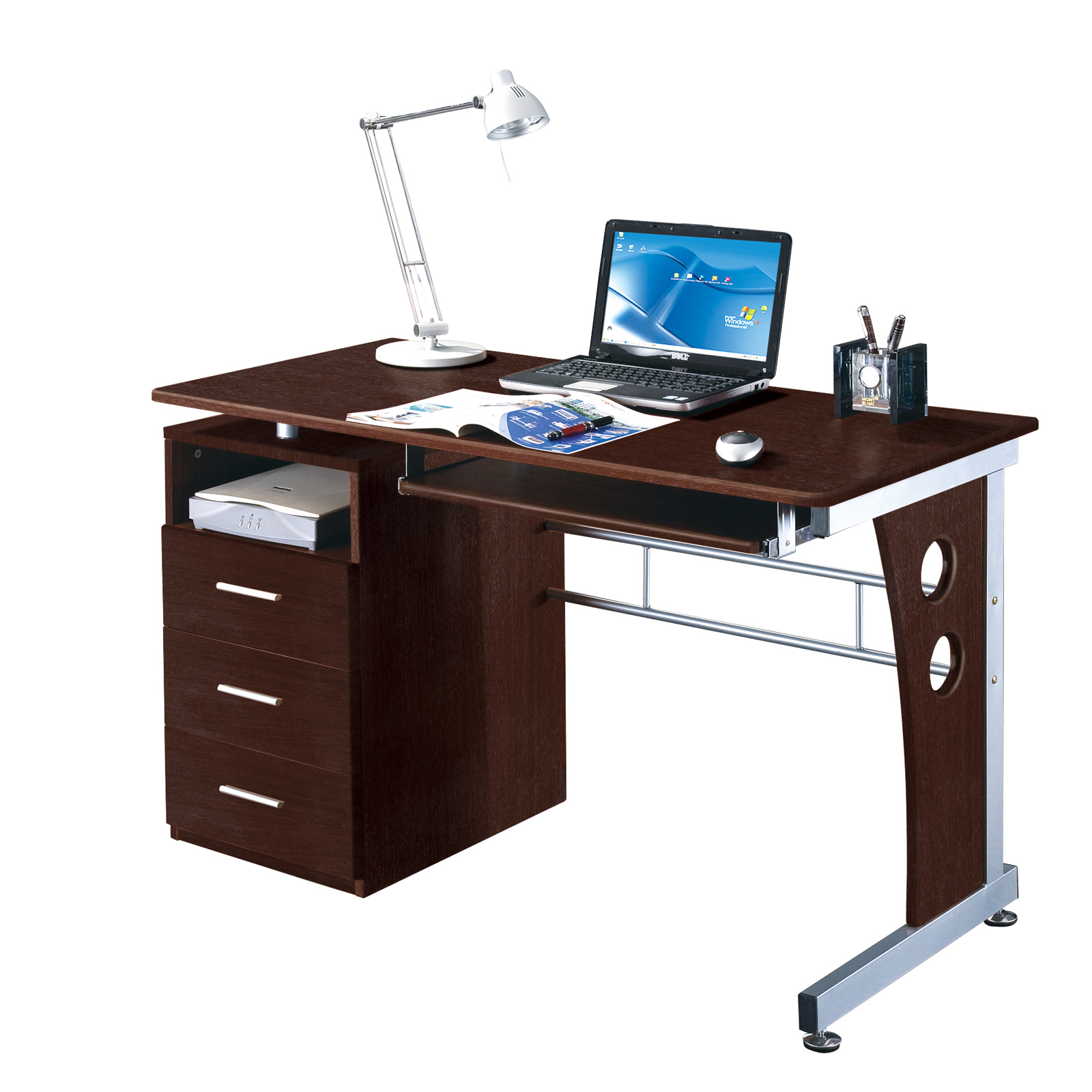 Techni Mobili Compact Work Desk By RTA Products In Desks