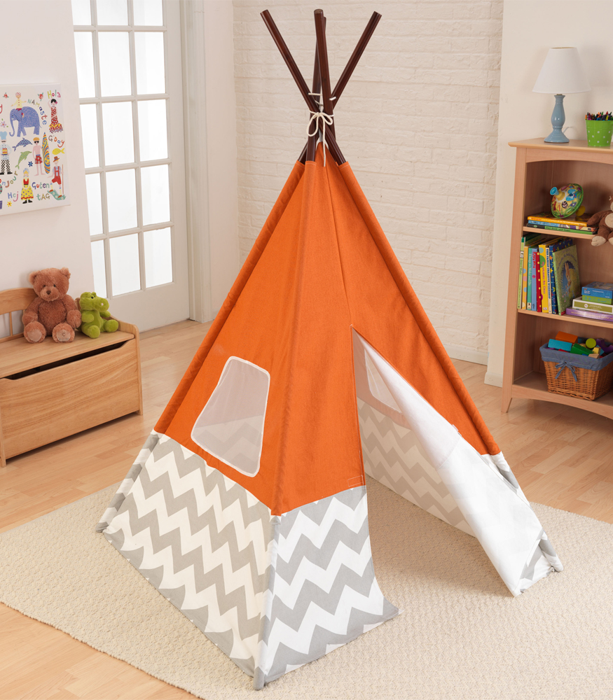 Teepee For Kids Chevron In Kids Furniture